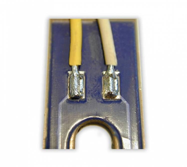 Lötung von Einzellitzen auf einem metallischen Träger
