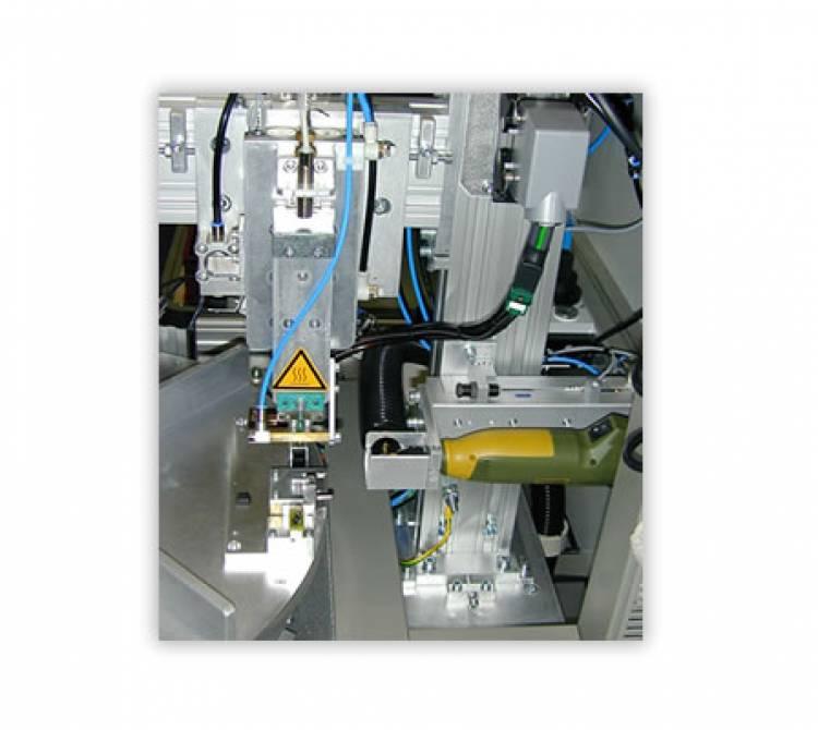 Bügellötsystem mit 4fach Drehteller