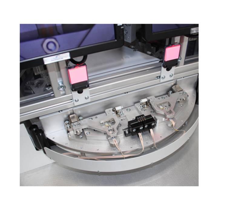 Doppelbügellötsystem mit 3-fach Drehteller
